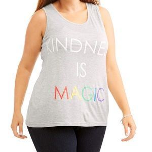 Tops - Kindness is Magic Graphic Tank